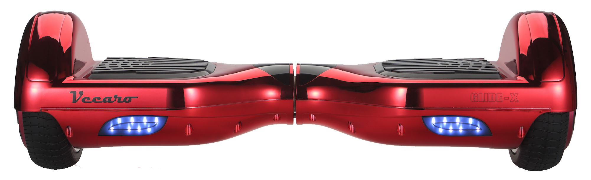 metallic red hoverboard