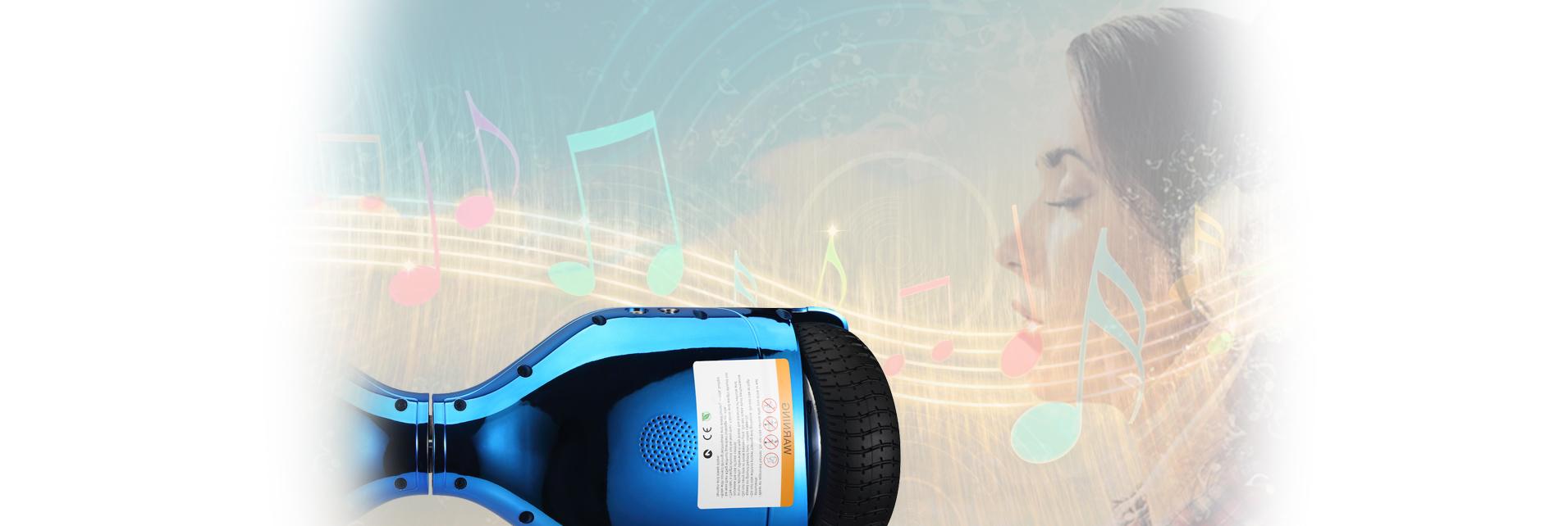 hoverboard speakers