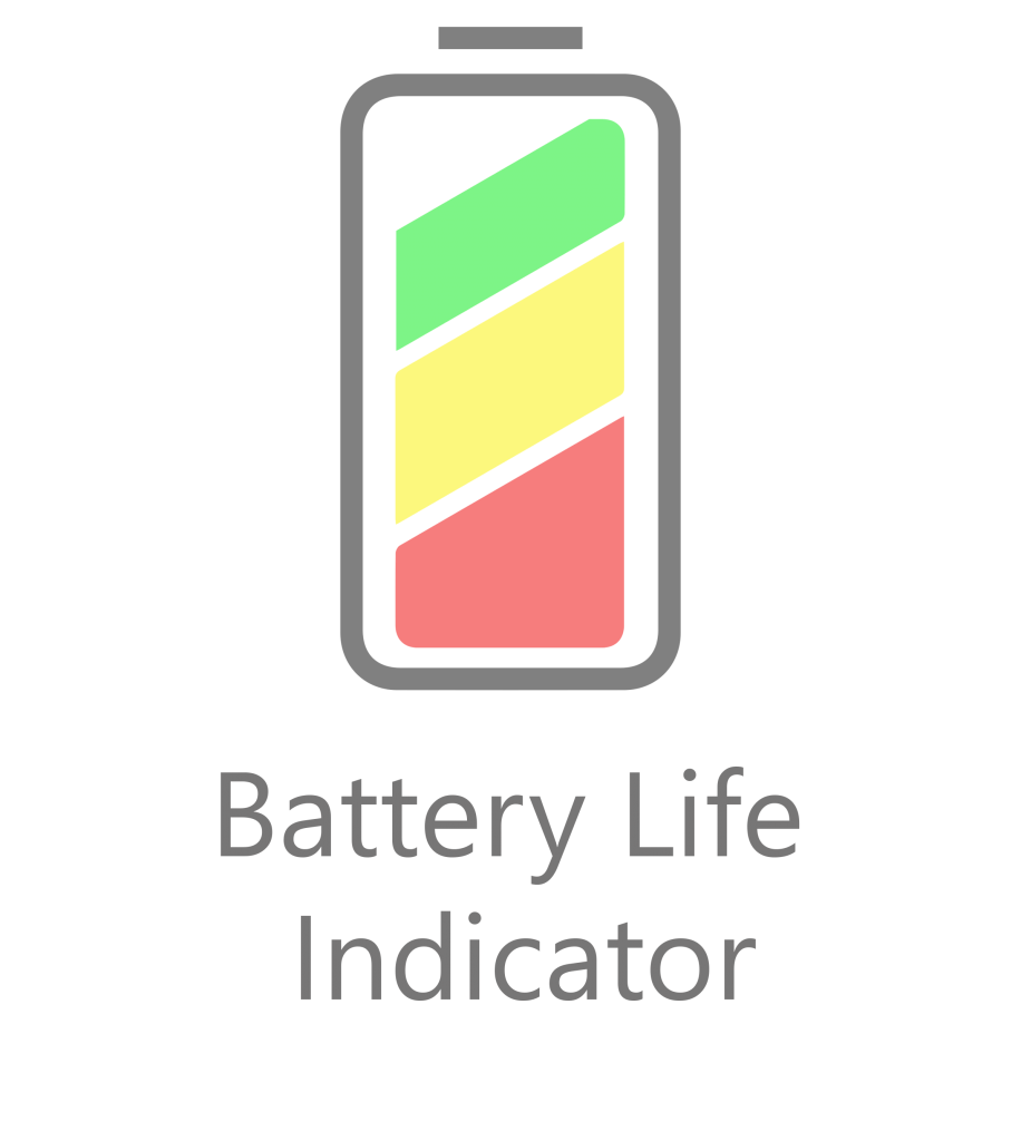 app battery life indicator