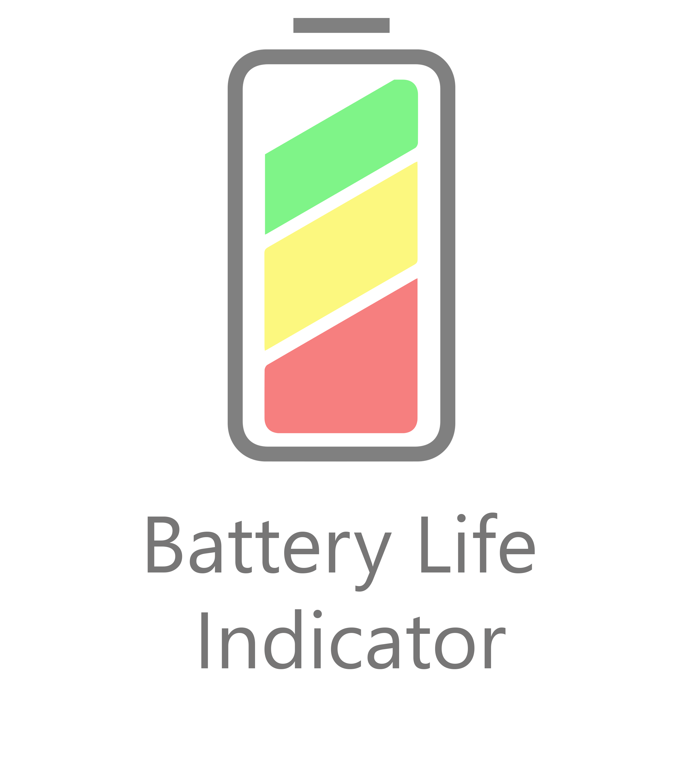 app battery life indicator