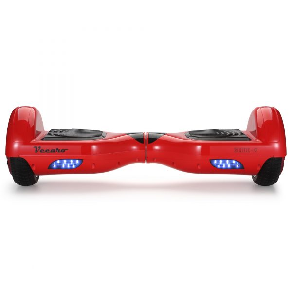 Glide-X (red) front hoverboard view