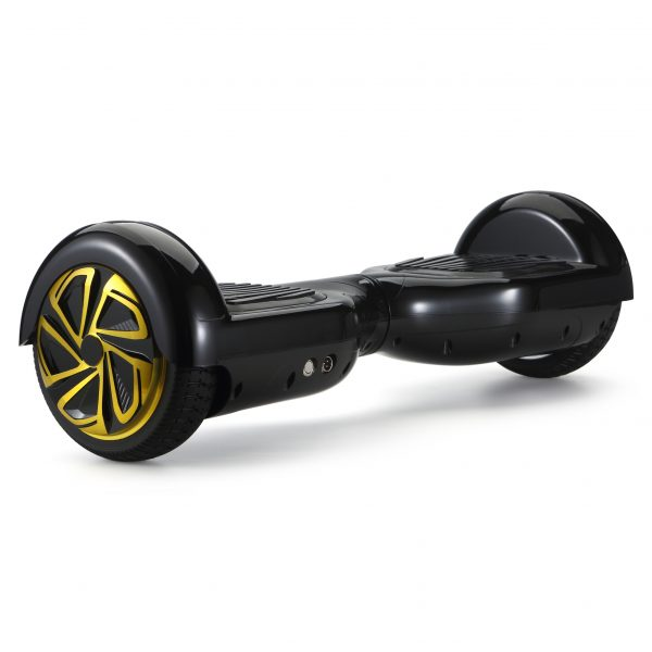 (black) back angle hoverboard view