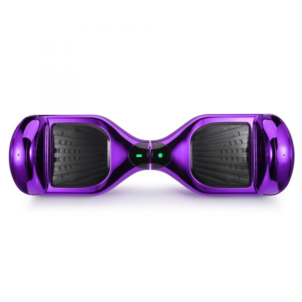 (metallic purple) top hoverboard view