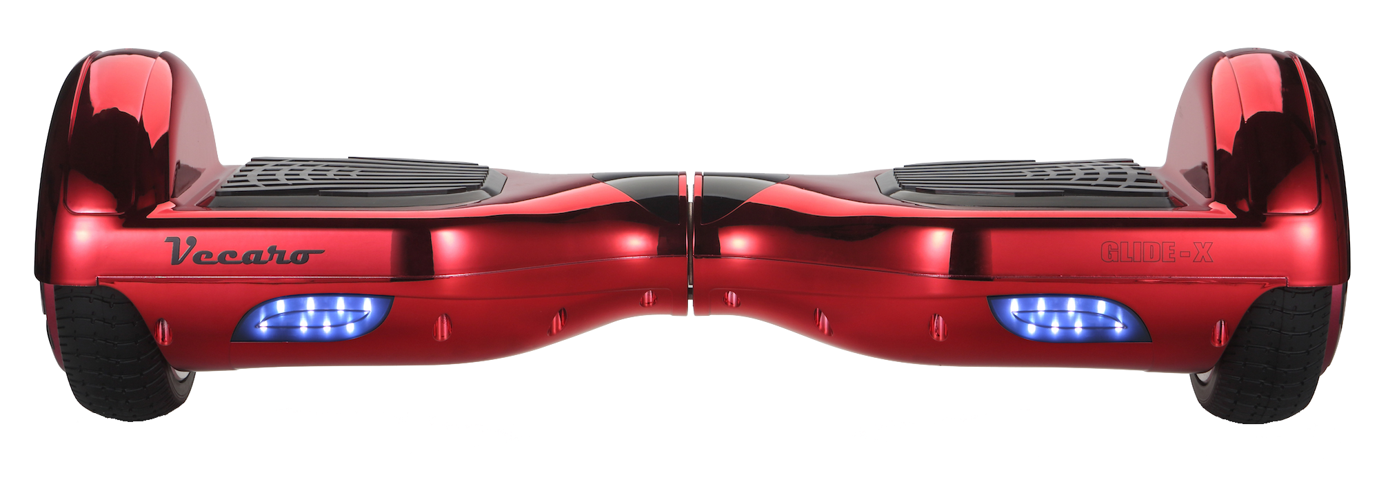 hoverboard metallic red