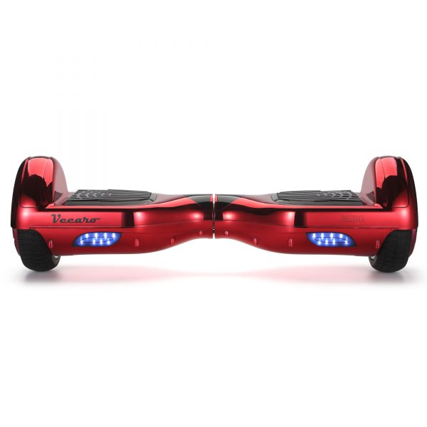 Glide (metallic red) front hoverboard view