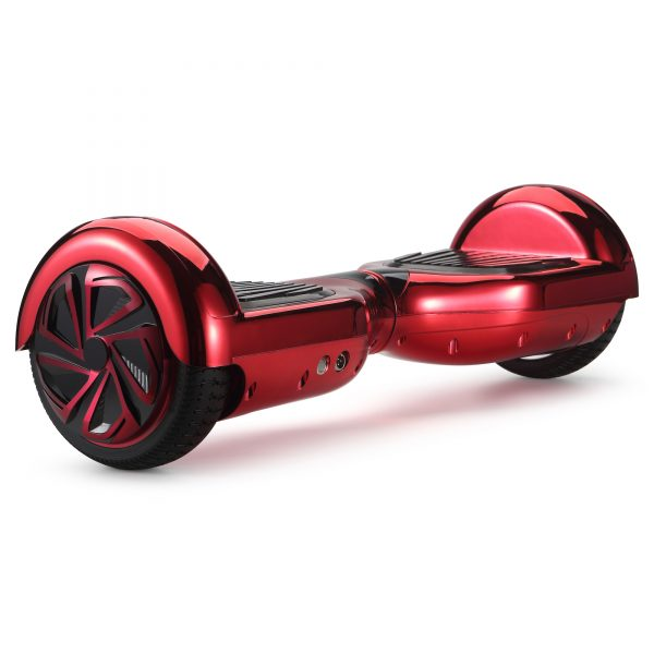 (metallic red) back angle hoverboard view