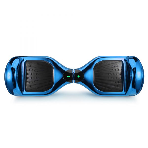 (metallic blue) top hoverboard view