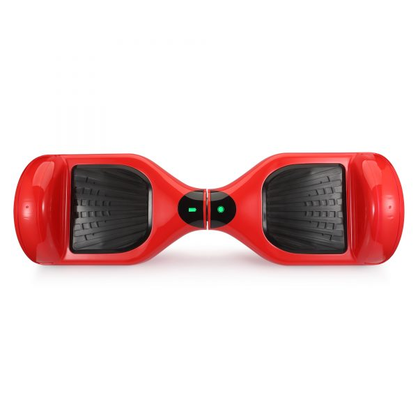 (red) top hoverboard view