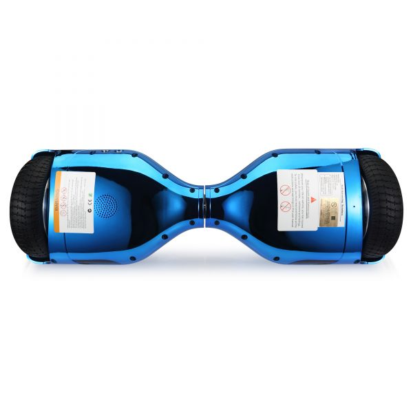 (metallic blue) bottom hoverboard view